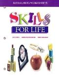 Reteaching Worksheet, Skills for Life