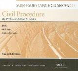 Miller's Sum and Substance Audio on Civil Procedure, 7th (CD) (English and English Edition)