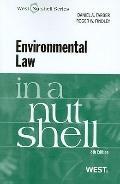 Environmental Law in a Nutshell, 8th (Nutshell Series)