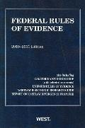 Federal Rules of Evidence, with Evidence Map, 2010-2011
