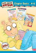 Marc Brown Arthur Chapter Books 4-6 Arthur and the Crunch Cereal Contest, Arthur Accused!, L...