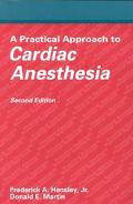 Practical Approach Cardiac Anesthesia
