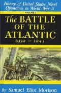 Battle of the Atlantic, 1939-1943 History of the United States Naval Operations in World War...