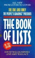 Book of Lists - David Wallechinsky - Mass Market Paperback