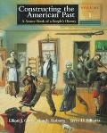 Constructing American Past,v.1