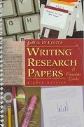 Writing Resrch Papers-w/insert(spiral)