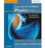 Study Guide with Activphysics 2: Physics with Modern Physics for Scientists and Engineers, V...