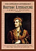Longman Anthology of British Literature The Romantics and Their Contemporaries  The Victoria...