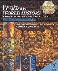 Selections from Longman World History Primary Sources and Case Studies