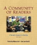 Community of Readers A Thematic Approach to Reading