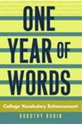 One Year of Words College Vocabulary Enhancement
