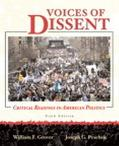 Voices of Dissent Critical Readings in American Politcs