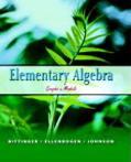 Elementary Algebra Graphs And Models