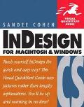 Indesign Cs for Macintosh and Windows Visual Quickstart Guide
