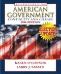 Essentials Of American Government Continuity And Change, 2004 Election Update
