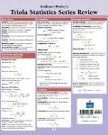 Triola Statistics Series Review