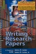Writing Research Papers, Research Navigator