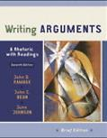 Writing Arguments A Rhetoric With Readings Brief Edition