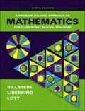 Problem Solving Approach to Mathematics for Elementary School Teachers - Rick Billstein - Ha...