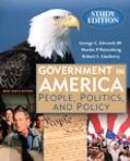 Government in America People, Politics and Policy, Brief Study Edition