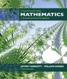 Using and Understanding Mathematics: A Quantitative Reasoning Approach (4th Edition)