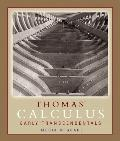 Thomas' Early Transcendentals Media Upgrade plus MyMathLab Student Access Kit (11th Edition)