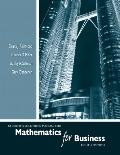 Mathematics for Business - Student Solutions Manual