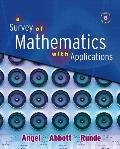 Survey of Mathematics with Applications Value Package (includes MathXL 12-month Student Acce...