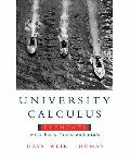 University Calculus: Elements with Early Transcendentals Value Pack (includes MyMathLab/MySt...