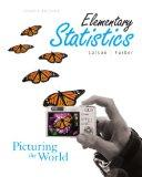 Elementary Statistics: Picturing the World Value Package (includes MyMathLab for WebCT Stude...