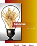 Calculus for Business, Economics, Life Sciences and Social Sciences (12th Edition) (Barnett)