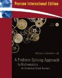 A Problem Solving Approach to Mathematics for Elementary School Teachers - Tenth Edition