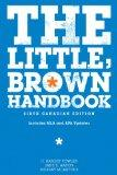 The Little, Brown Handbook: With MyCanadianCompLab, 6th Edition