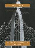 Student Study Guide for University Physics Volume 1 (Chs 1-20)