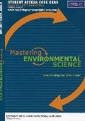 MasteringEnvironmentalScience Student Access Code Card for Environment: The Science Behind t...