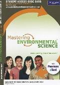 MasteringEnvironmentalScience#8482; with Pearson eText Student Access Code Card for Environm...