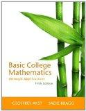 Basic College Mathematics through Applications (5th Edition)