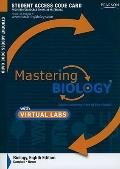 MasteringBiology: Virtual Lab Student Access Code Card for Biology