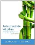 Intermediate Algebra Through Applications (3rd Edition)