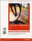 Calculus with Applications, Books a la Carte Plus MML/MSL Student Access Code Card (for ad h...
