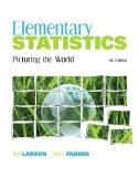 Elementary Statistics: Picturing the World plus MyMathLab/MyStatLab Student Access Code Card...