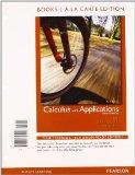 Calculus with Applications, Brief Version, Books a la Carte Plus MML/MSL Student Access Code...