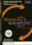 MasteringChemistry -- Standalone Access Card -- for Organic Chemistry