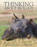 Thinking About Biology: An Introductory Laboratory Manual (4th Edition)