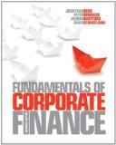 Fundamentals of Corporate Finance, Canadian Edition with MyFinanceLab