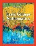 Basic College Mathematics (9th Edition)