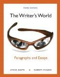 The Writer's World: Paragraphs and Essays with NEW MyWritingLab with eText -- Access Card Pa...