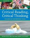 Critical Reading Critical Thinking: Focusing on Contemporary Issues with NEW MyReadingLab --...