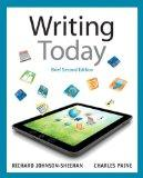 Writing Today, Brief Edition, with NEW MyCompLab with eText -- Access Card Package (2nd Edit...