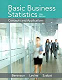 Basic Business Statistics (13th Edition)